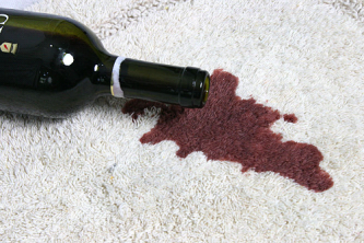 carpet wine stain removal