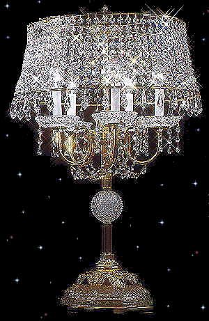 lamps and chandeliers cleaning