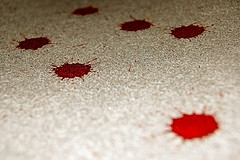 carpet blood stains cleaning