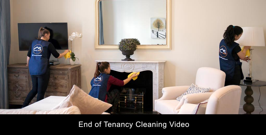 End of Tenancy Cleaning in London with Cleaner Cleaner